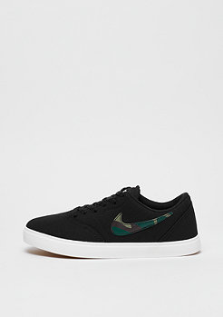 NIKE SB Check Canvas GS black/medium olive-pro green