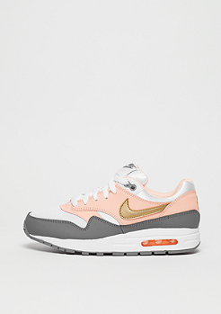 NIKE Air Max 1 (GS) white/metallic gold-gunsmoke