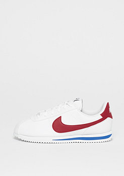 NIKE Cortez Basic SL white/varsity red-varsity royal-black