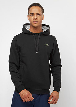Lacoste Hoodie black/silver chime
