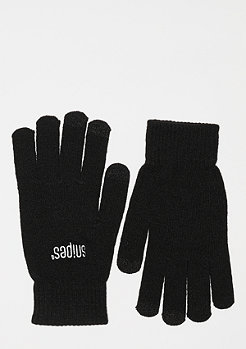 SNIPES Knitted Gloves	black