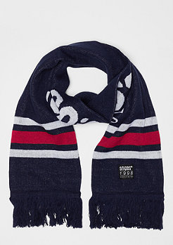 SNIPES Basic Logo Scarf navy