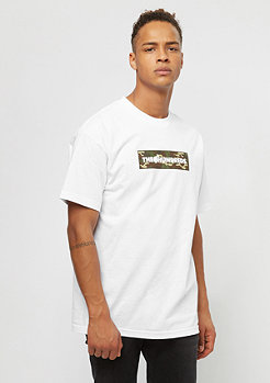 The Hundreds Camo Bar white