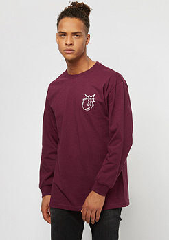 The Hundreds Forever Simple Adam burgundy