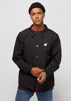 The Hundreds Bar Logo Coaches Jacket black
