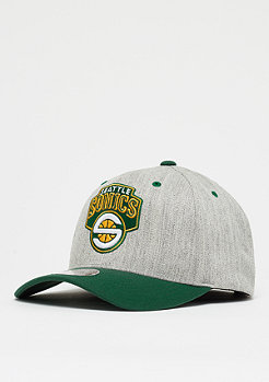 Mitchell & Ness Team Logo 2 Tone 100 HWC NBA Seattle Supersonics grey/black
