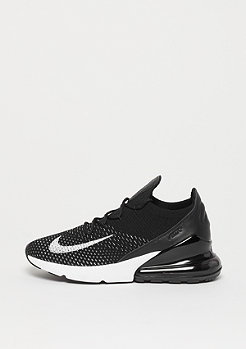 NIKE Air Max 270 Flyknit black/white-white