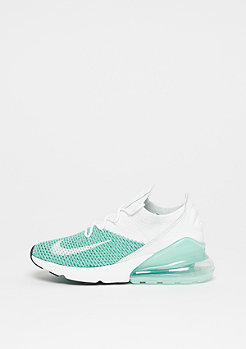 NIKE Air Max 270 Flyknit igloo/white-igloo-clear emerald