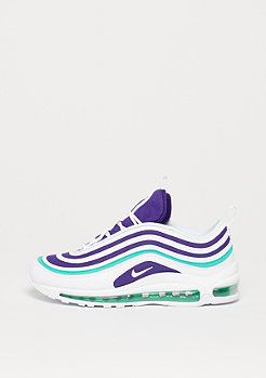 NIKE Air Max 97 Ultra white/white-court purple-emerald green
