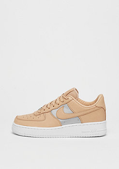 NIKE Wmns Air Force 1 bio beige/metallic silver-white