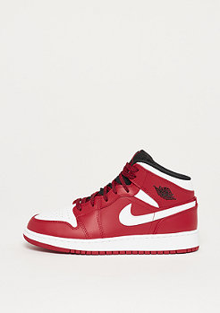 JORDAN Air Jordan 1 Mid gym red/white-black