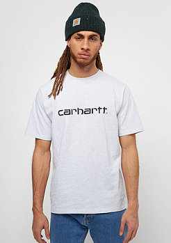 Carhartt WIP Script ash heather/black