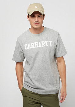 Carhartt WIP College grey heather/white