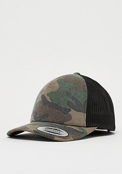 Flexfit Camo wood camo/black