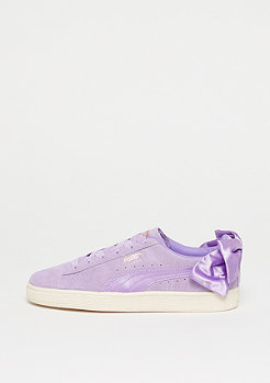 Puma Suede Bow purple rose