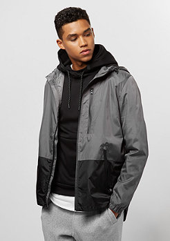 Southpole Windbreaker Anorak grey/black