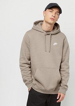 NIKE Sportswear Hoodie sepia stone/sepia stone/white