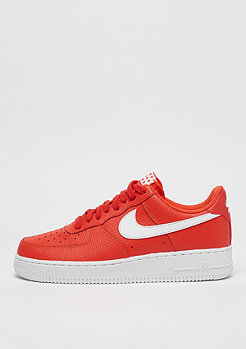 NIKE Air Force 1 07 team orangewhite
