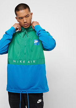 NIKE Sportswear Top Air HZ green noise/blue nebula/anthracite