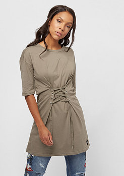 Sixth June Lacing Dress taupe