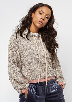 Damen Sixth June Classic Oversize Cropped dark stone pink rosa |