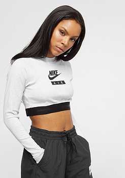 NIKE Crop Air birch heather/black/black