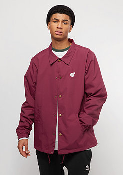 The Hundreds Bar Logo burgundy