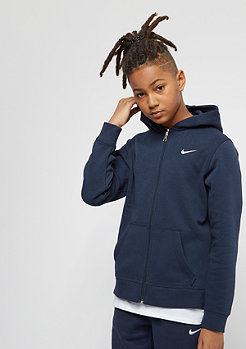NIKE Junior YA76 Brushed Fleece obsidian/white