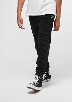 NIKE Pantalon Junior NSW Jersey Jogger black/gris loup