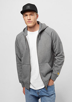 Carhartt WIP Chase dark grey heather/gold
