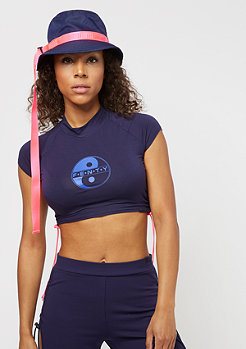 Puma Fenty By Rihanna Cropped Surf Tee evening blue