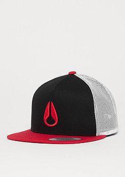 Nixon Deep Down Trucker black/red