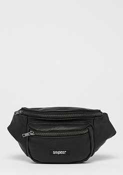 SNIPES Fake Leather Fannypack black