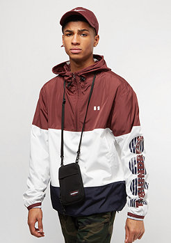 The Hundreds Overland Anorak burgundy