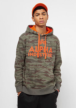 Alpha Industries Foam Print woodland camo