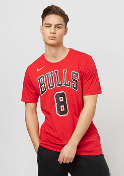 NIKE Zach LaVine NBA Chicago Bulls Dry university red