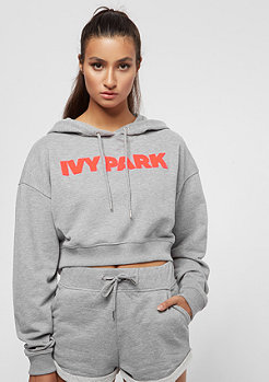 IVY PARK Chenille Neon Red Logo grey