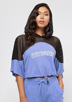 IVY PARK Collegiate Logo Crop wedgewood blue