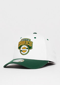 Mitchell & Ness NBA The White Crown Team Logo 110 NBA Seattle Supersonics white