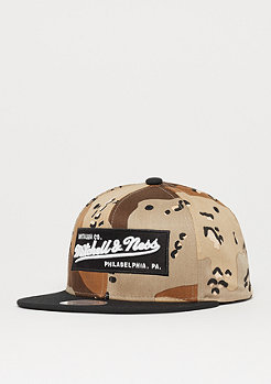 Mitchell & Ness Logo Box desert camo/black