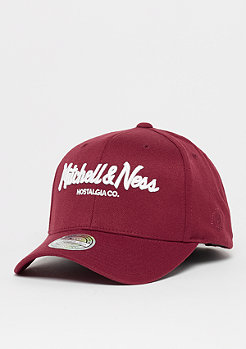 Mitchell & Ness The Burgundy 2-Tone 110 Pinscript burgundy/white