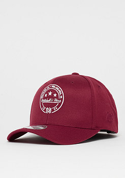 Mitchell & Ness The Burgundy 2-Tone 110 Visor Sticker burgundy/white