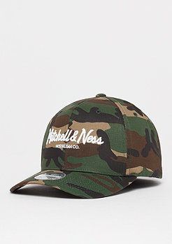 Mitchell & Ness Pinscript High Crown 110 woodland