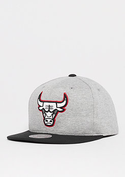 Mitchell & Ness The 3-Tone NBA Chicago Bulls gris heather/black/red
