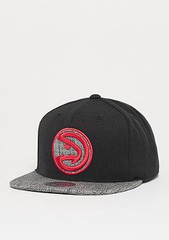 Mitchell & Ness Woven TC NBA Atlanta Hawks black/gris