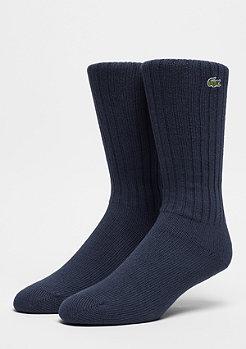 Lacoste Crew Sock Logo 1 navy