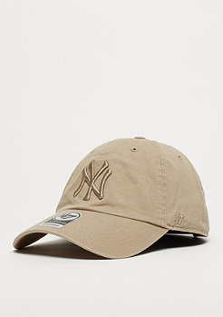 47 Brand MLB New York Yankees 47 CLEAN UP khaki