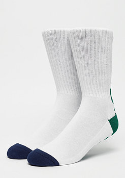 The Hundreds Bar Crew Socks white