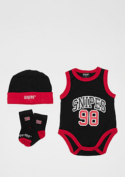 SNIPES Baby Clothes Set black/red
