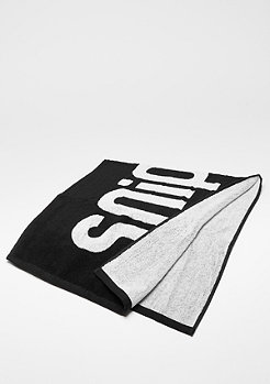 SNIPES Fitness Towel black/white